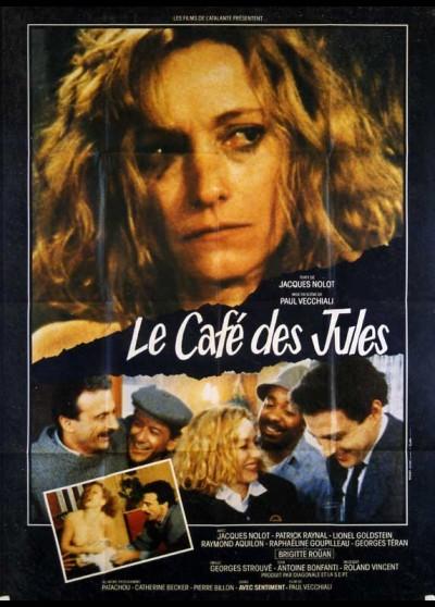 affiche du film CAFE DES JULES (LE)