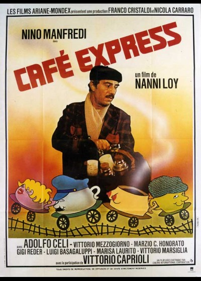 affiche du film CAFE EXPRESS