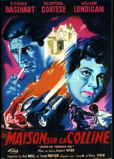 HOUSE ON TELEGRAPH HILL movie poster