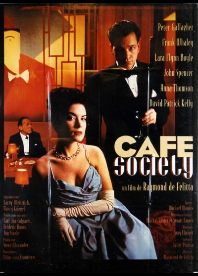 CAFE SOCIETY movie poster