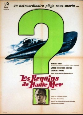 DECOY / MYSTERY SUBMARINE movie poster