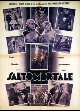 affiche du film SALTO MORTALE