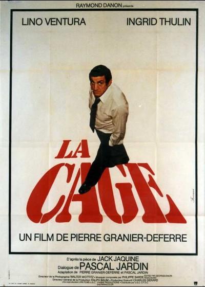 affiche du film CAGE (LA)