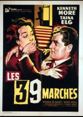 THIRTY NINE STEPS (THE) / 39 STEPS (THE) movie poster