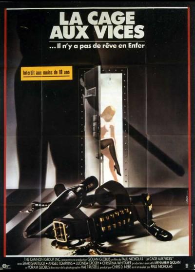 affiche du film CAGE AUX VICES (LA)