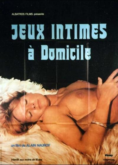 JEUX INTIMES A DOMICILE movie poster