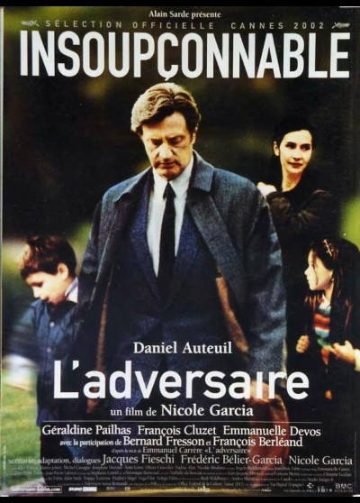ADVERSAIRE (L') movie poster