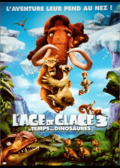ICE AGE DAWN OF THE DINOSAURS movie poster