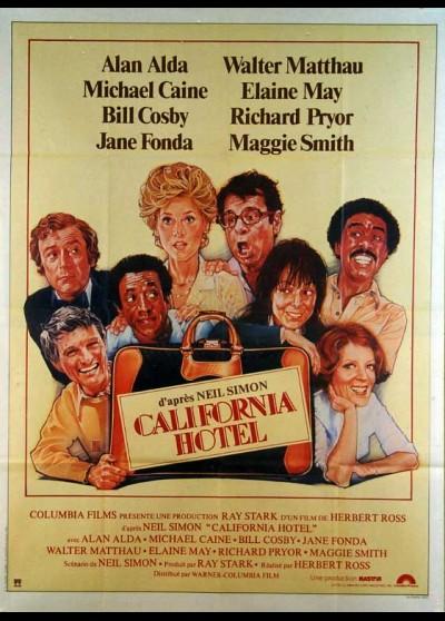 affiche du film CALIFORNIA HOTEL