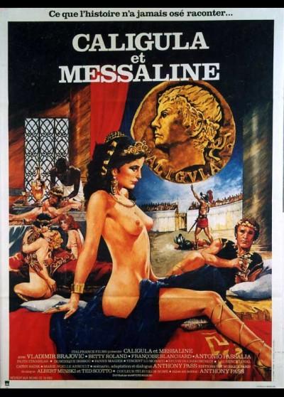 affiche du film CALIGULA ET MESSALINE