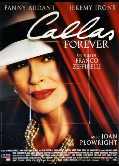 CALLAS FOREVER movie poster