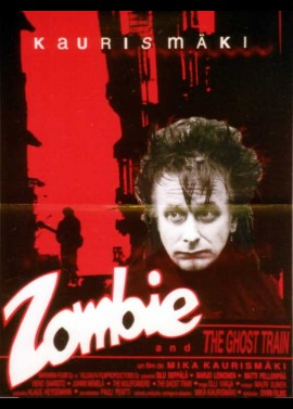 affiche du film ZOMBIE AND THE GHOST TRAIN