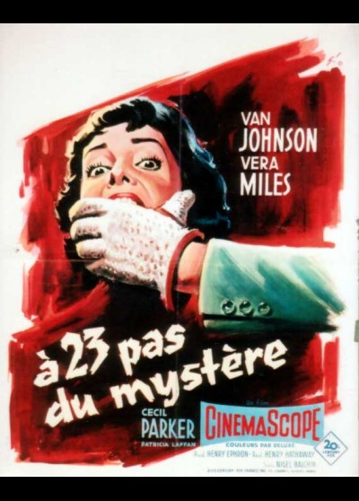 23 PACES FROM BAKER STREET / TWENTY THREE PACES FROME BAKER STREET movie poster