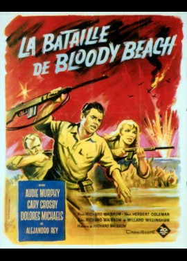BATTLE AT BLOODY BEACH movie poster