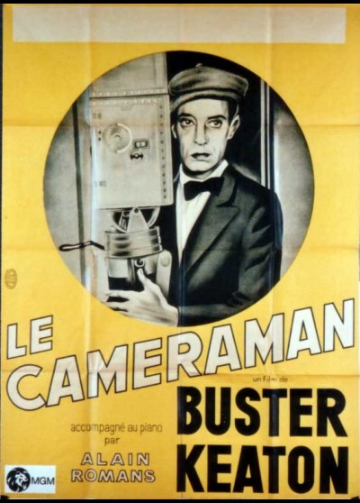 CAMERAMAN (THE) movie poster