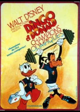 affiche du film DINGO ET DONALD CHAMPIONS OLYMPIQUES