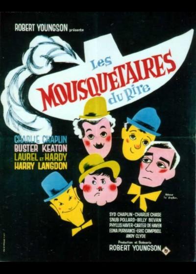 affiche du film MOUSQUETAIRES DU RIRE (LES)