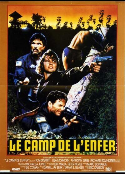 affiche du film CAMP DE L'ENFER (LE)