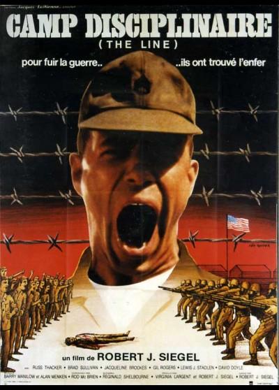 affiche du film CAMP DISCIPLINAIRE