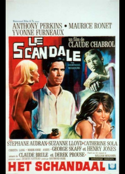 SCANDALE (LE) movie poster