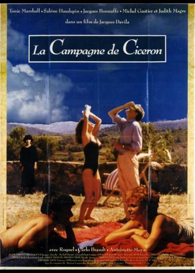 affiche du film CAMPAGNE DE CICERON (LA)