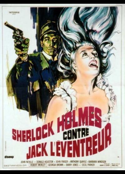 affiche du film SHERLOCK HOLMES CONTRE JACK L'EVENTREUR