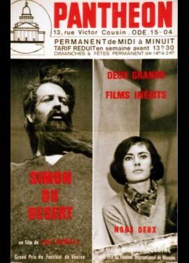 affiche du film SIMON DU DESERT / NOUS DEUX