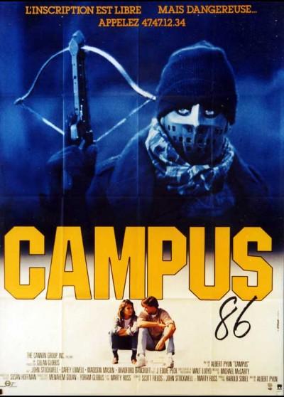 affiche du film CAMPUS QUATRE-VINGTS SIX