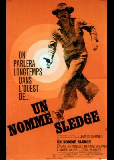 affiche du film UN NOMME SLEDGE