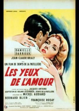 YEUX DE L'AMOUR (LES) movie poster