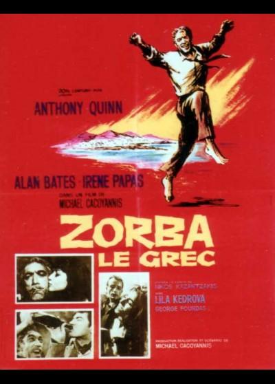 ALEXIS ZORBAS / ZORBA THE GREEK movie poster