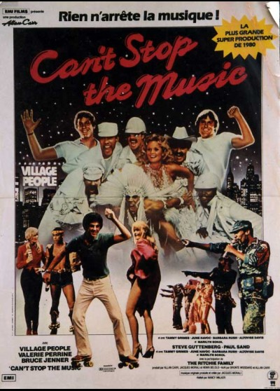 CAN'T STOP THE MUSIC movie poster