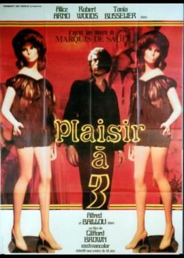 PLAISIR A TROIS movie poster