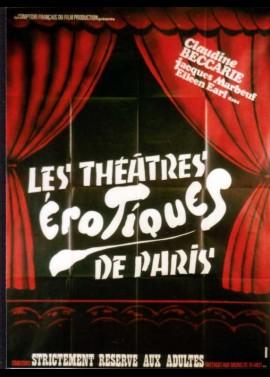 THEATRES EROTIQUES DE PARIS (LES) movie poster