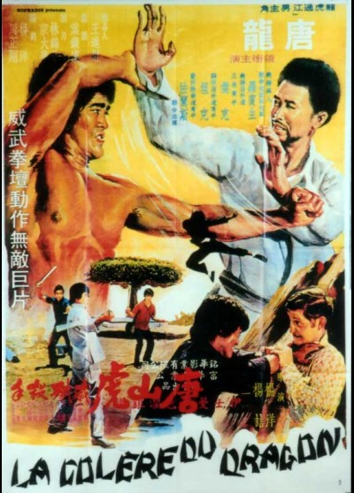 BLACK DRAGON VERSUS THE YELLOW TIGER movie poster
