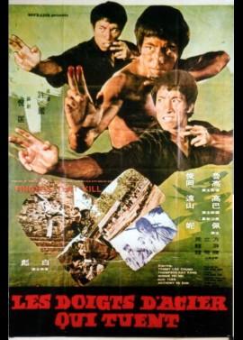 affiche du film DOIGTS D'ACIER QUI TUENT (LES)