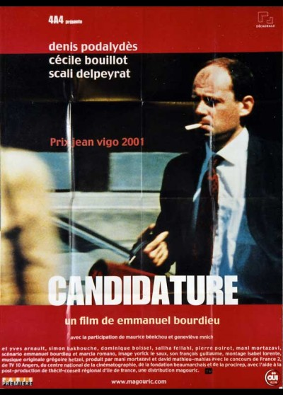 affiche du film CANDIDATURE