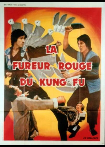 FUREUR ROUGE DU KUNG FU (LA) movie poster