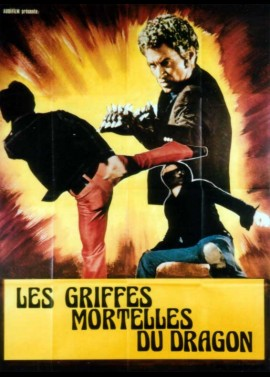GRIFFES MORTELLES DU DRAGON (LES) movie poster