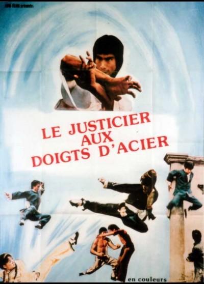 affiche du film JUSTICIER AUX DOIGTS D'ACIER (LE)