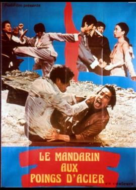 affiche du film MANDARIN AUX POINGS D'ACIER (LE)