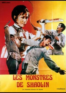 affiche du film MONSTRES DE SHAOLIN (LES)