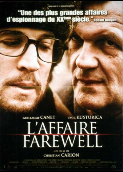 affiche du film AFFAIRE FAREWELL (L')