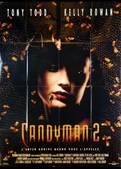 CANDYMAN FAREWELL TO THE FLESH movie poster