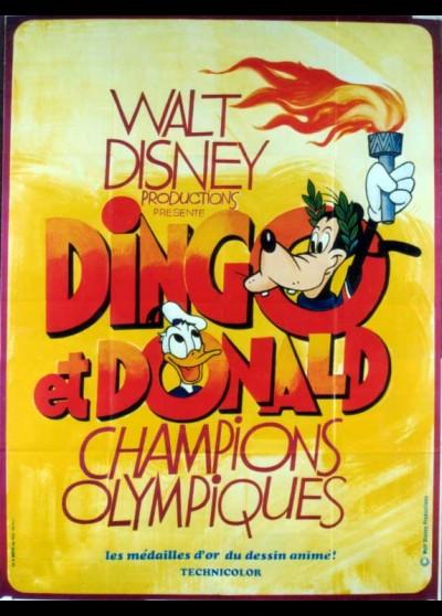 affiche du film DINGO ET DONALD CHAMPIONS OLYPIQUES