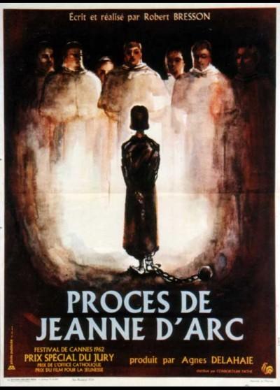 affiche du film PROCES DE JEANNE D'ARC (LE)