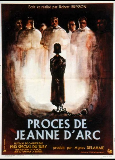 PROCES DE JEANNE D'ARC (LE) movie poster
