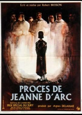 PROCES DE JEANNE D'ARC (LE) movie poster