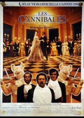 affiche du film CANNIBALES (LES)