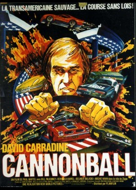CANNONBALL movie poster